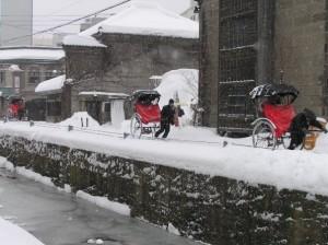 Otaru_rickshaws_by_world_waif_in_Hokkaido
